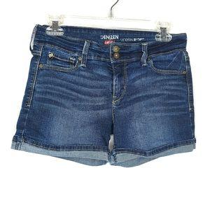 Levi's Denizen Modern Shorts Dark Wash Cuffed - 26